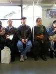 men on trains
