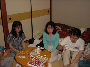 Chiba group trip - party10