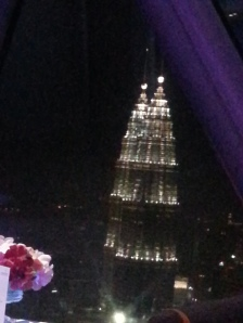 KL tower rotating restaurant view