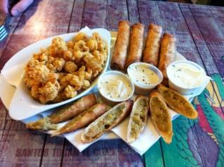 Fried Cajun Stuff!