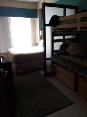 Yep, those are twin bunkbeds :D