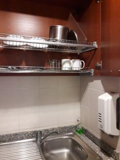 Drying shelves