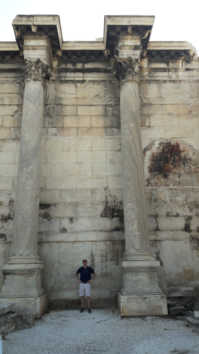These columns were impressive, seemed one piece, not stacked like most.