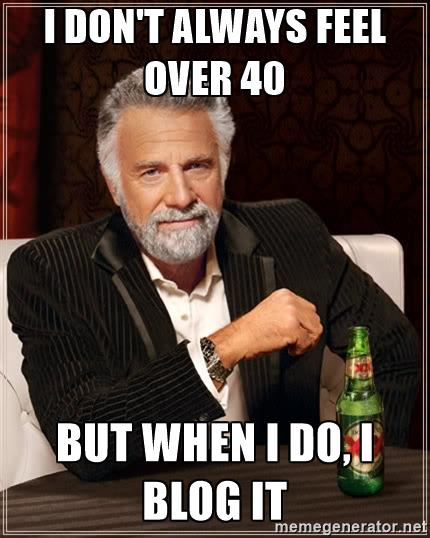 over 40 meme