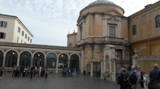 The Vatican Entry