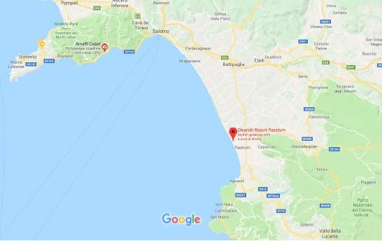 Paestum map