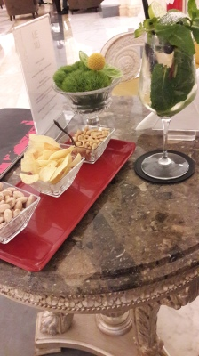 Aperitif While Waiting for my friend.